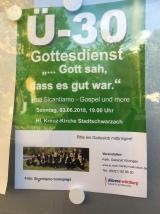 Stadtschwarzach Ü30-Gottesdienst 2018