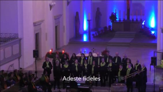 Adeste fideles - Weihnachtskonzert 2018 - Ev. Stadtkirche Kitzingen